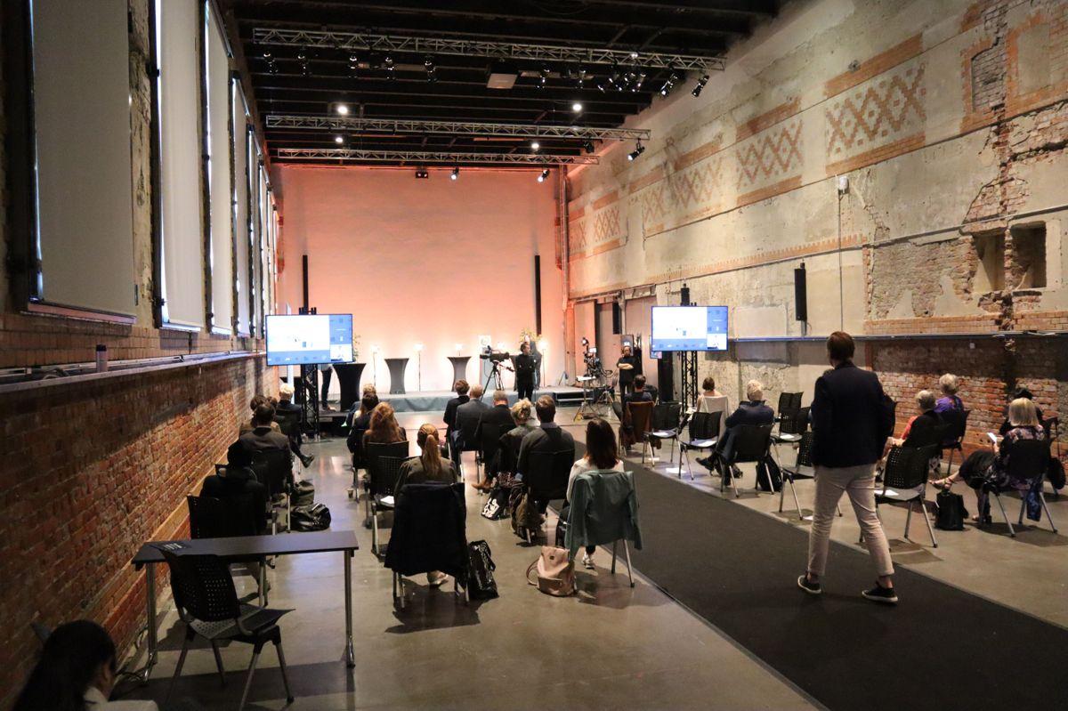 Prisutdelingen fant sted på DOGA i Oslo og ble streamet live. Foto: Svanhild Blakstad