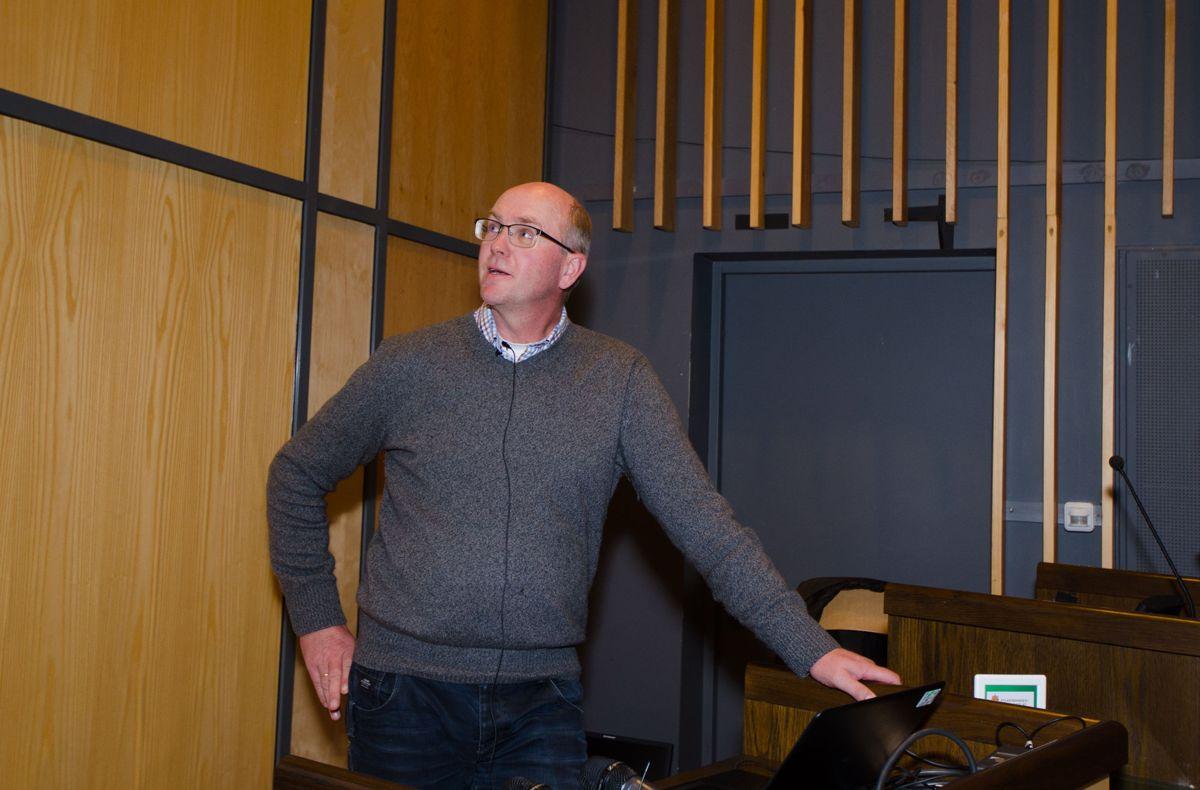 Tom Marstein, Veidekke Industri.