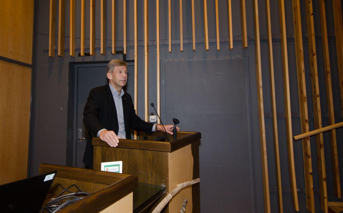 Stig Magnar Løvås, regionsdirektør i Midt-Norge ,Arbeidstilsynet.