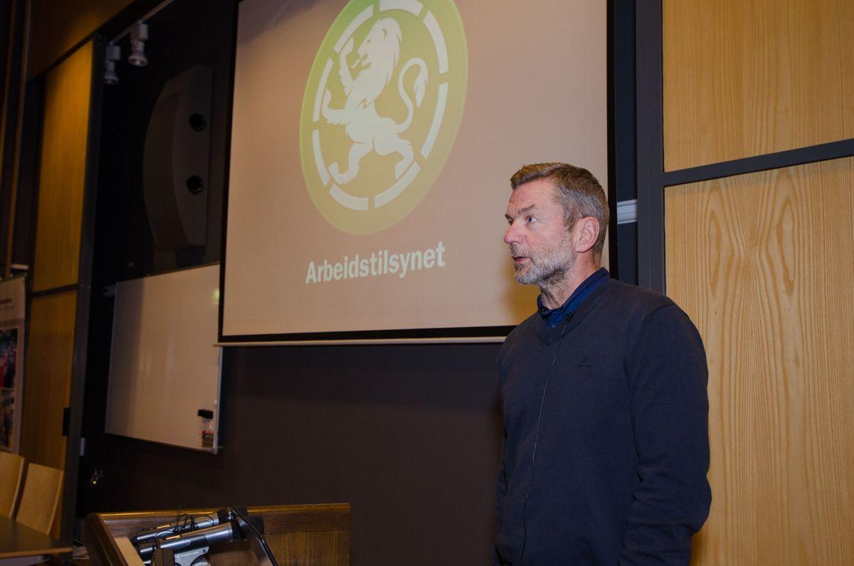 Morten Storseth, Arbeidstilsynet.
