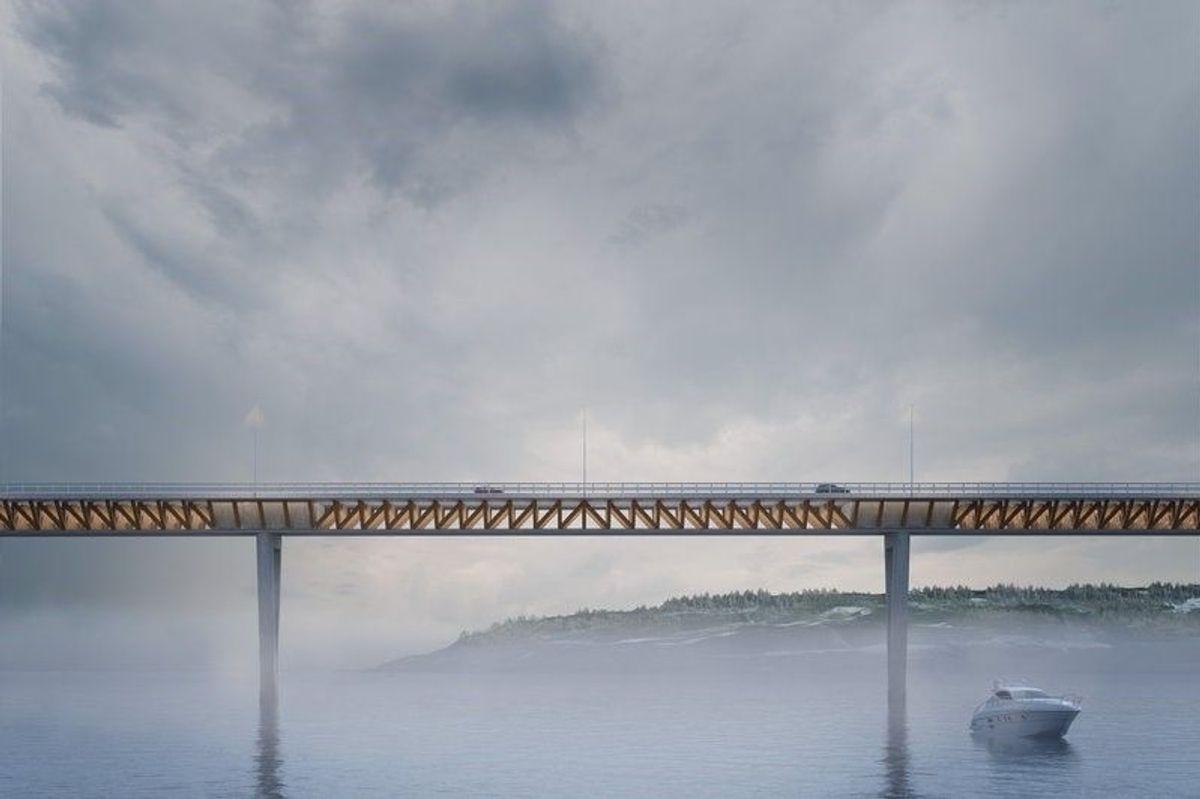 RIF reagerer etter at Nye Veier avbestilte kontrakten med Berinor for prosjektutvikling, regulering og bygging av ny E6 Moelv - Roterud. lllustrasjon: BESIX Group