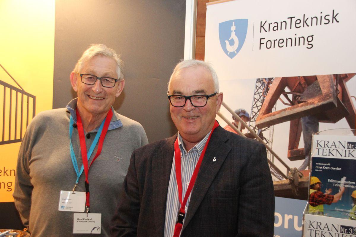 Flere firmaer profilerte seg på HMS-konferansen 2016. Foto: Svanhild Blakstad