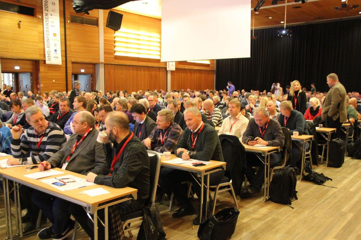 EBAs HMS-konferanse 2016. Foto: Svanhild Blakstad