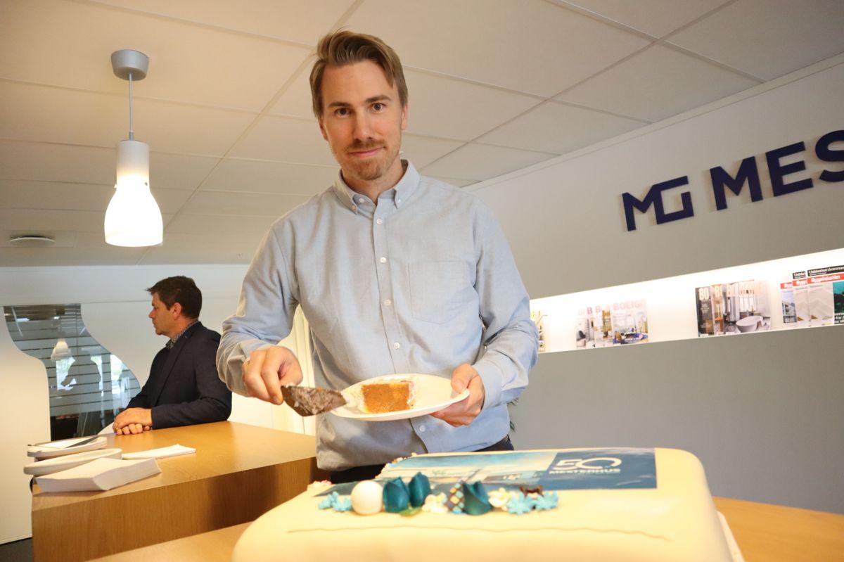 Teknisk sjef Martin Strand i Mesterhus. Foto: Svanhild Blakstad