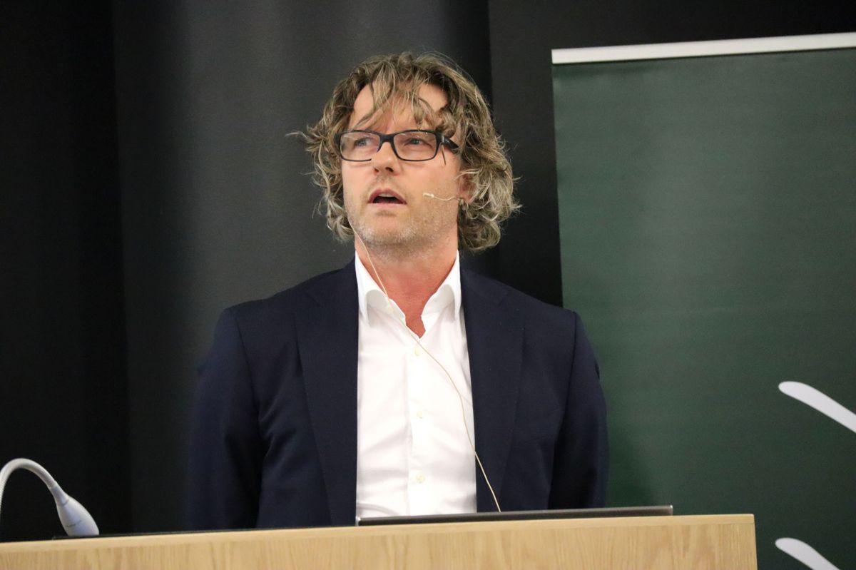 Advokat Marius Borgen i Glittertind. Foto: Svanhild Blakstad