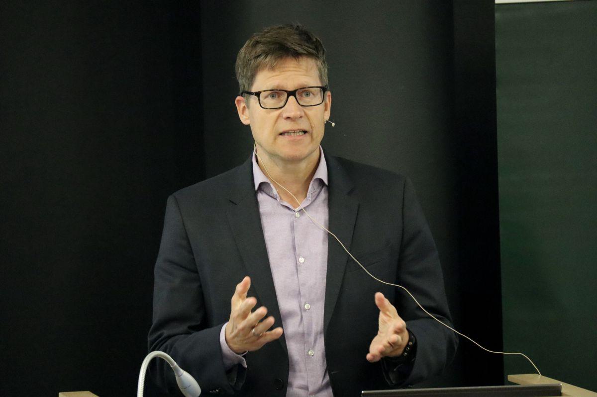 Juridisk direktør Gunnar Garred i Skanska. Foto: Svanhild Blakstad