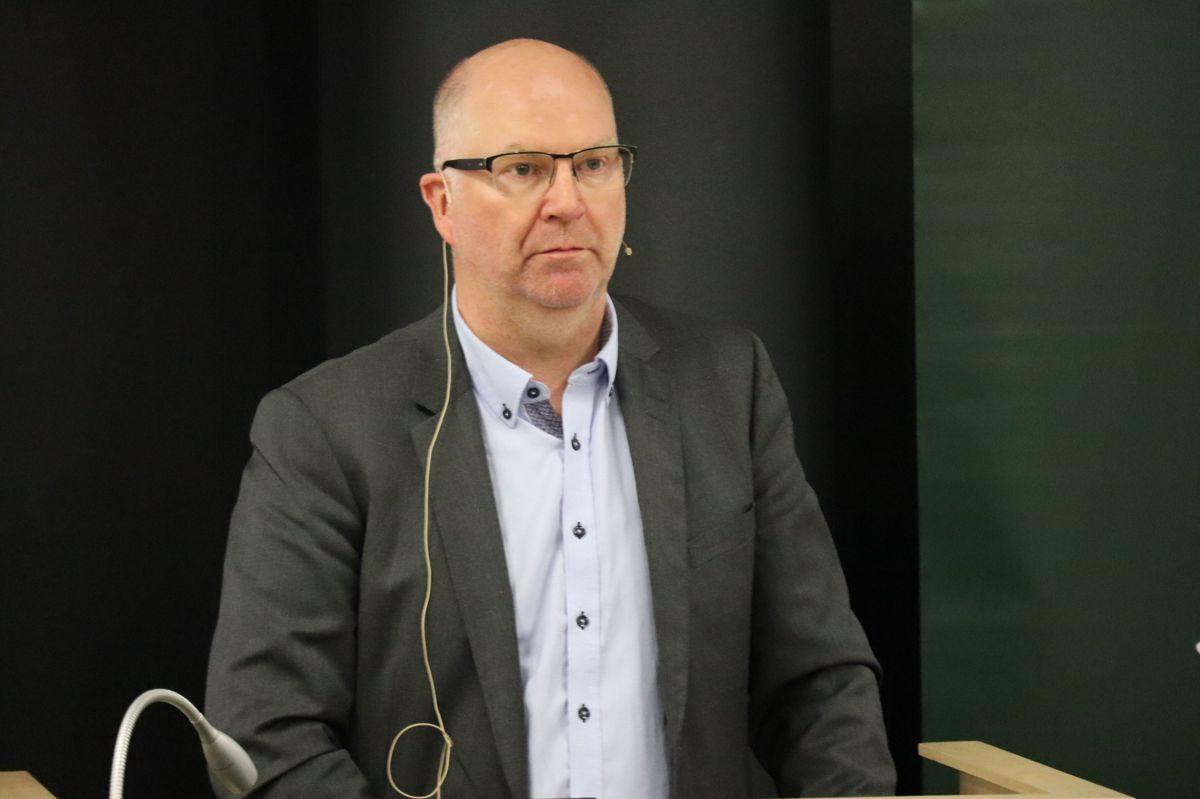 Bjørn Kuvås, avdelingsdirektør Statsbygg. Foto: Svanhild Blakstad