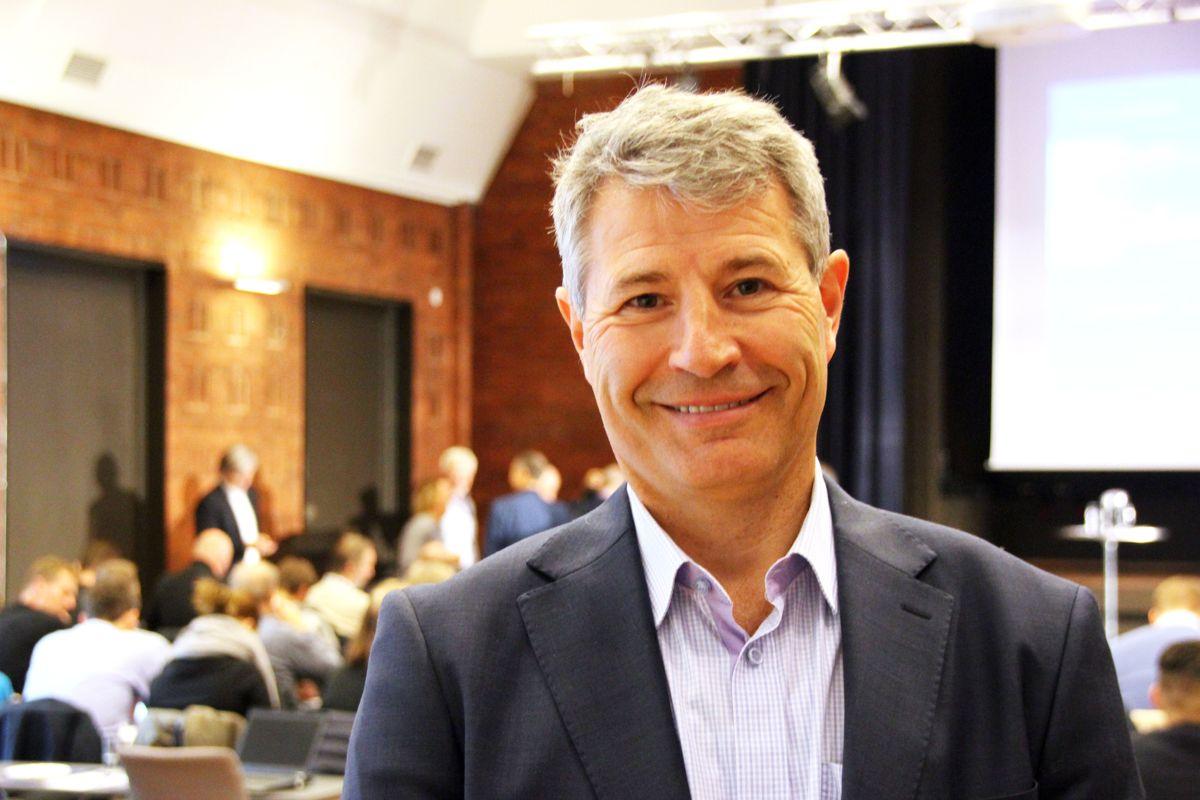 Erik Øyno, konsernsjef i Protan. Foto: Svanhild Blakstad