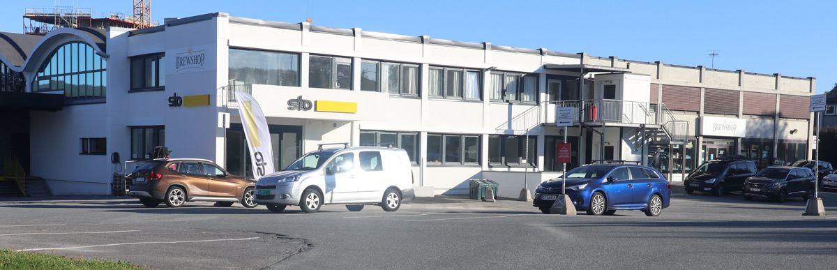 Det nye StoCenter i Trondheim ligger i et område med stor aktivitet og enkel tilgang.