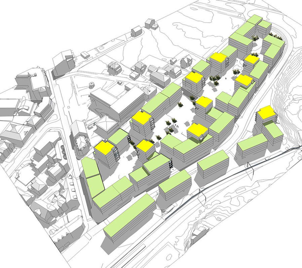Illustrasjon: Arkitektkontoret GASA
