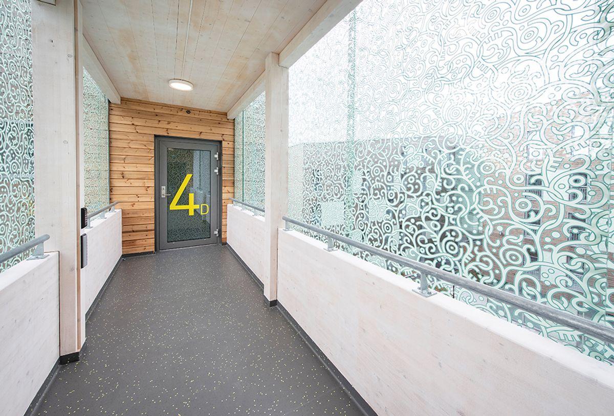 Bjølstad studentboliger, trinn 5 i Fredrikstad, 8.9.2020. Foto: Trond Joelson, Byggeindustrien