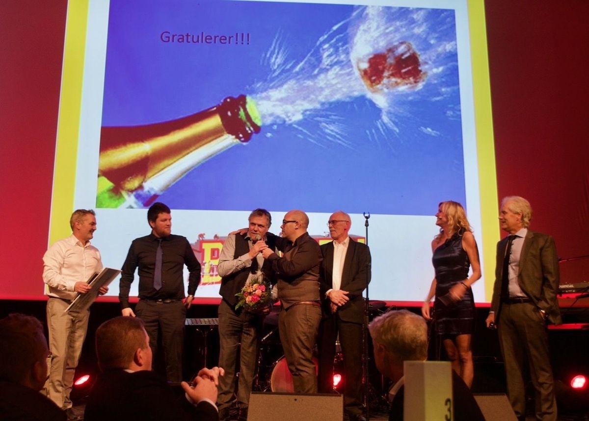 Helgeland Bygg ble stemt fram som den mest engasjerte proffkunden. Foto: Bygger'n