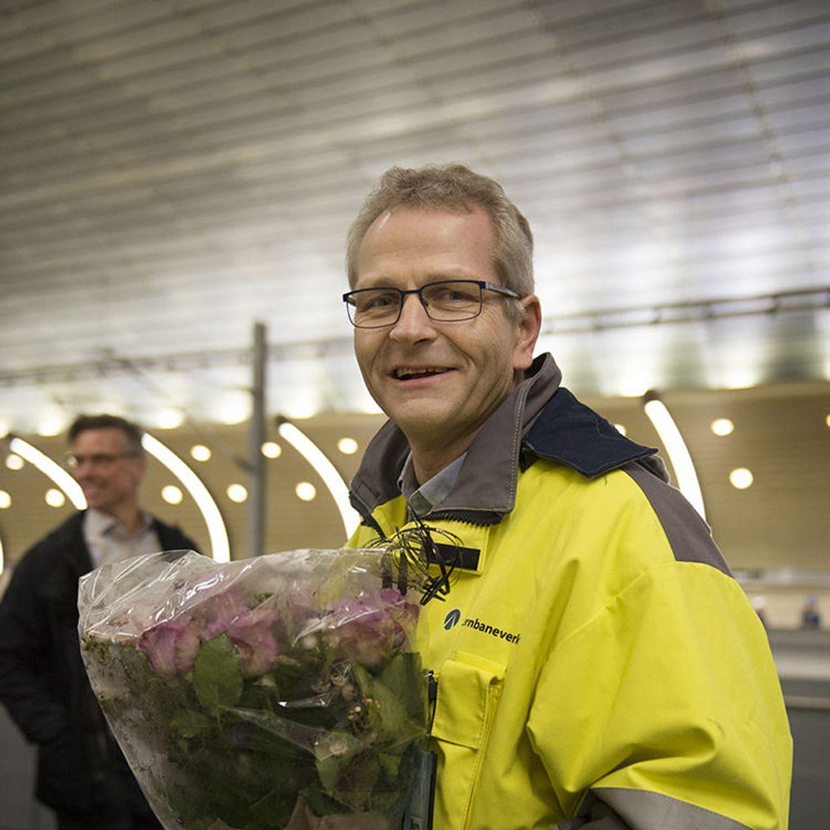 Banesjef Bjørn Ståle Varnes. Foto: Anne Mette Storvik