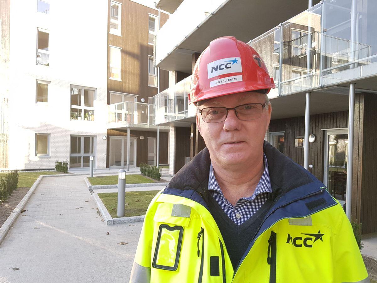 Prosjektleder Jan Follestad. Foto: Cato Gustavson / NCC