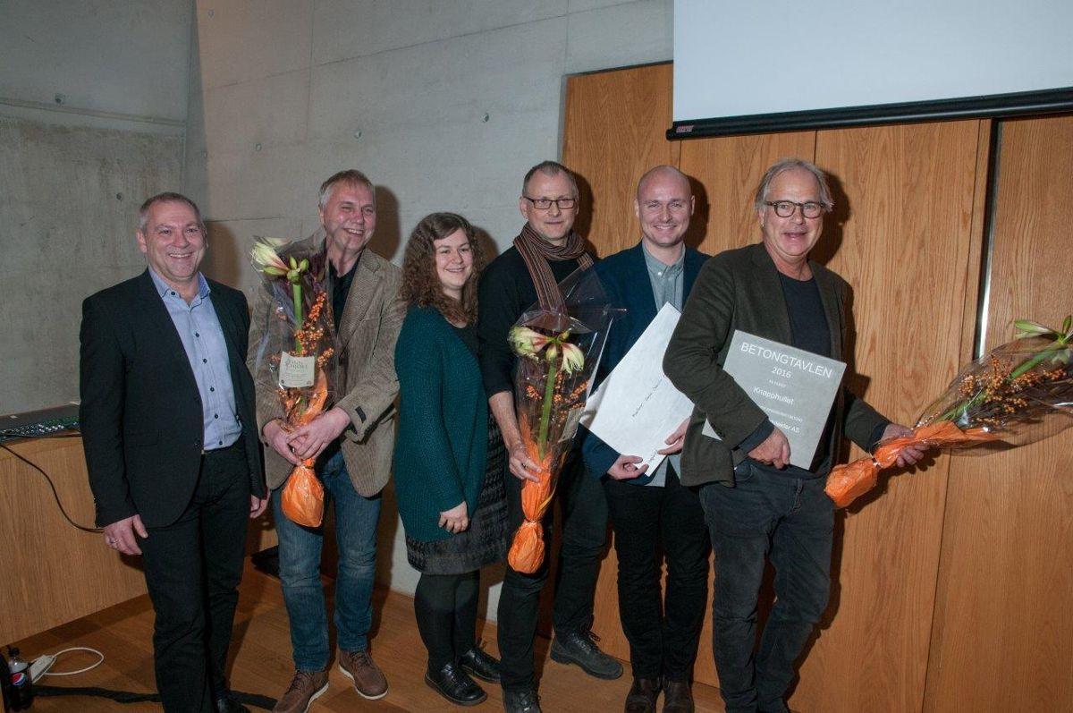 Representantene for Knapphullet. Foto: Trond Joelson