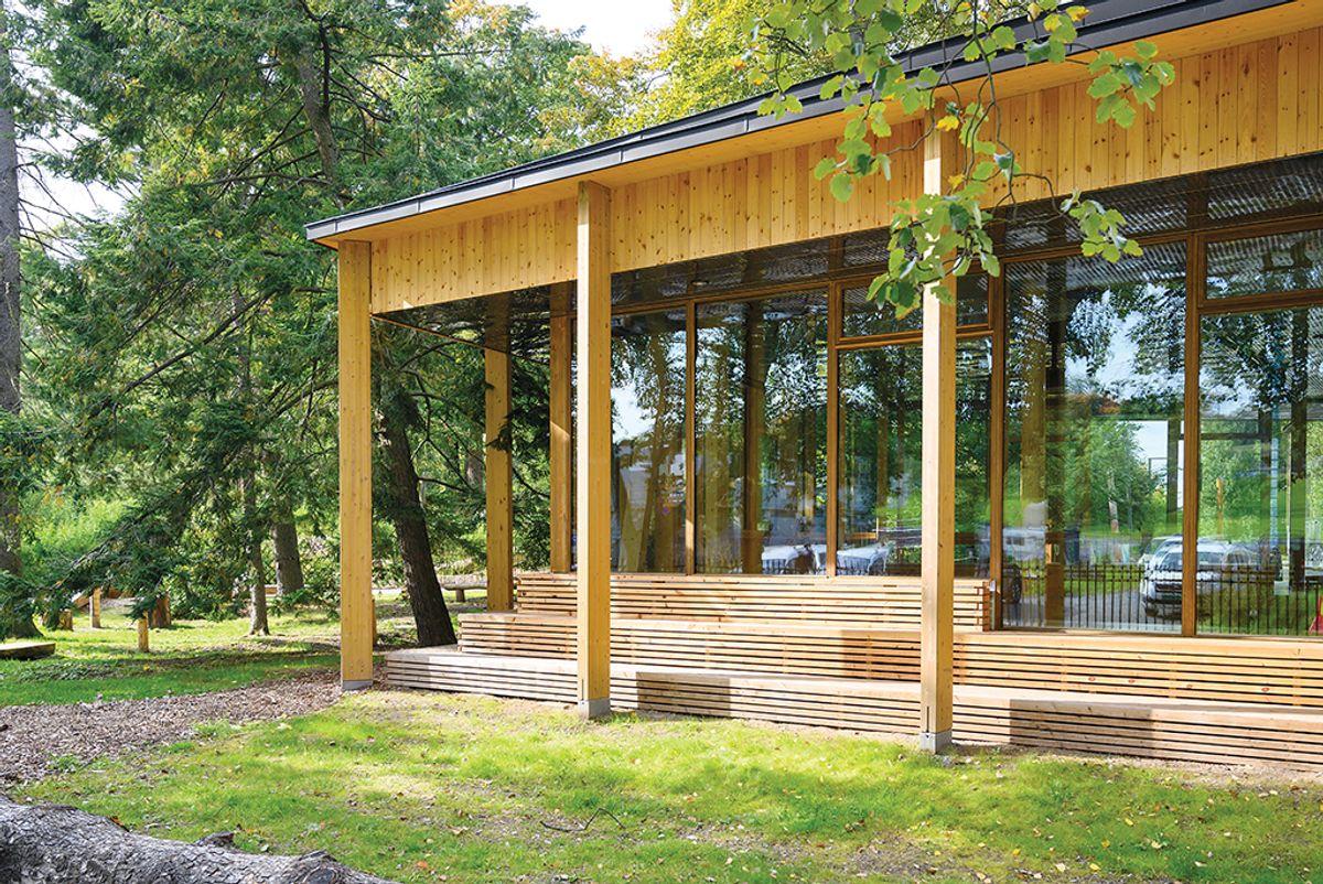Klimahuset i Botanisk hage på Tøyen, 15.9.2020 Byggherre: Universitetet i Oslo, Eiendomsavdelingen Arkitekt: Lund Hagem og Atelier Oslo Foto: Trond Joelson, Byggeindustrien