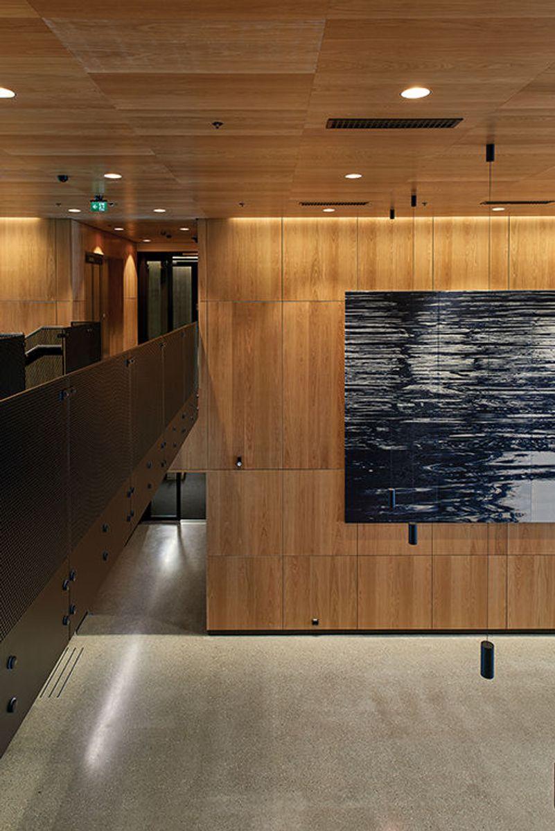 Til tross et komplekst omfang og stort areal overleveres det beredskapssenteret under den estimerte kostnadsrammen. Foto: Nordic – Office of Architecture, Knut Ramstad