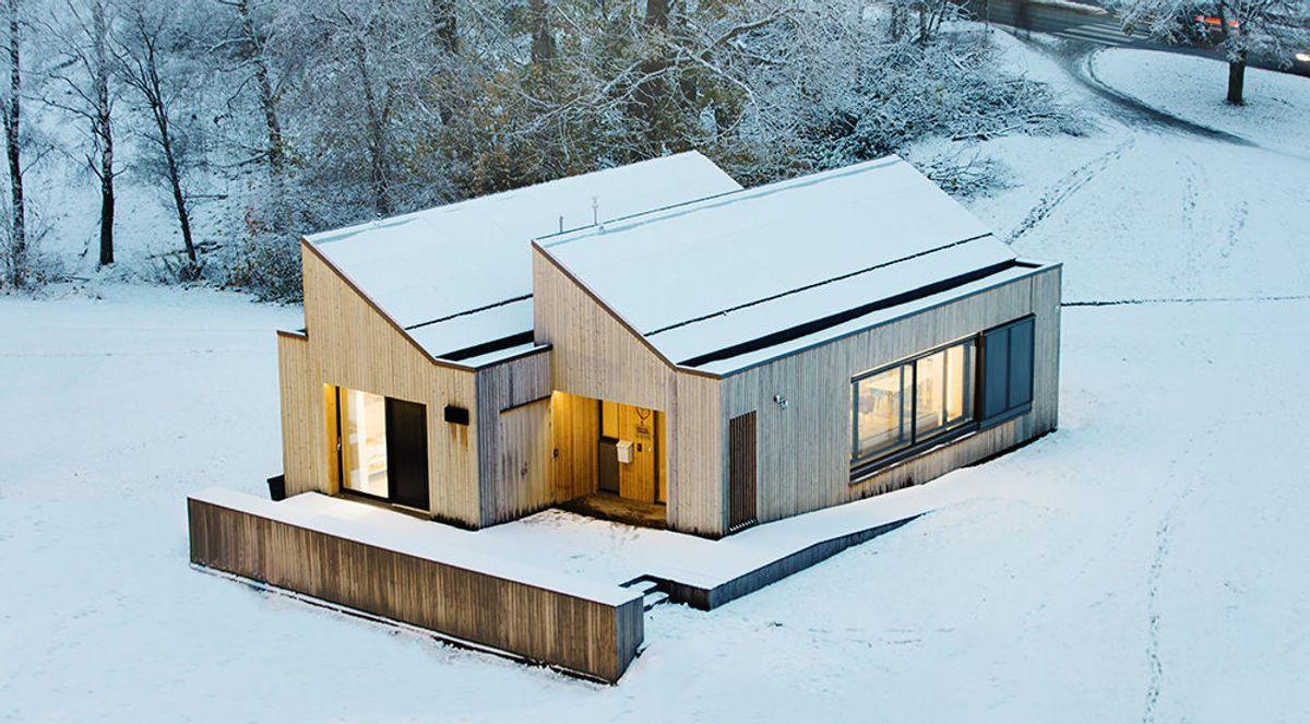 ZEB-bygget på Gløshaugen. Foto: Geir Mogen