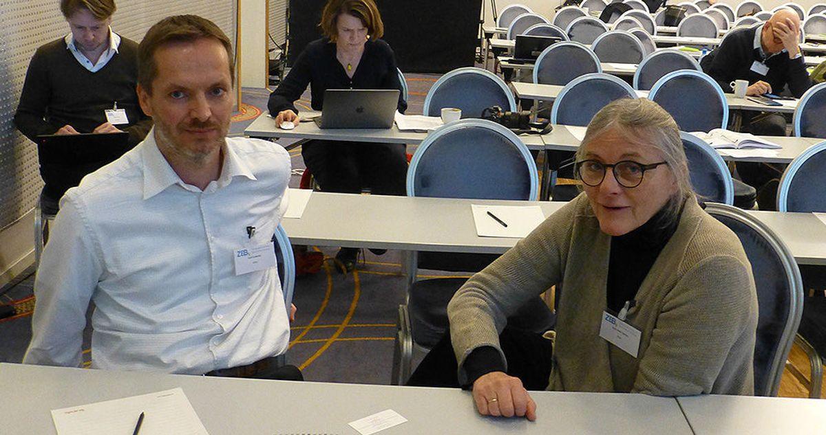 Professor Arvid Gustavsen og Anne Grete Hestnes ved NTNU har ledet prosjektet med å utvikle nye bygg uten utslipp og ekstern tilførsel av energi.