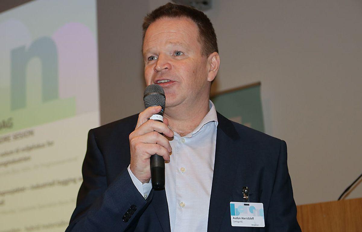 <p>Styreleder Audun Harridsleff i Betongelementforeningen kan fortelle om en god markedsutvikling for betongelementprodusentene.</p>