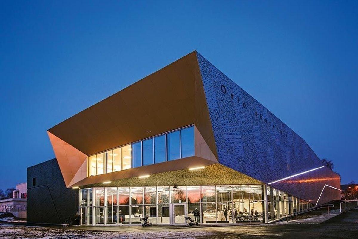 Oslo Skatehall. Foto: Lars Gartå, Dark arkitekter