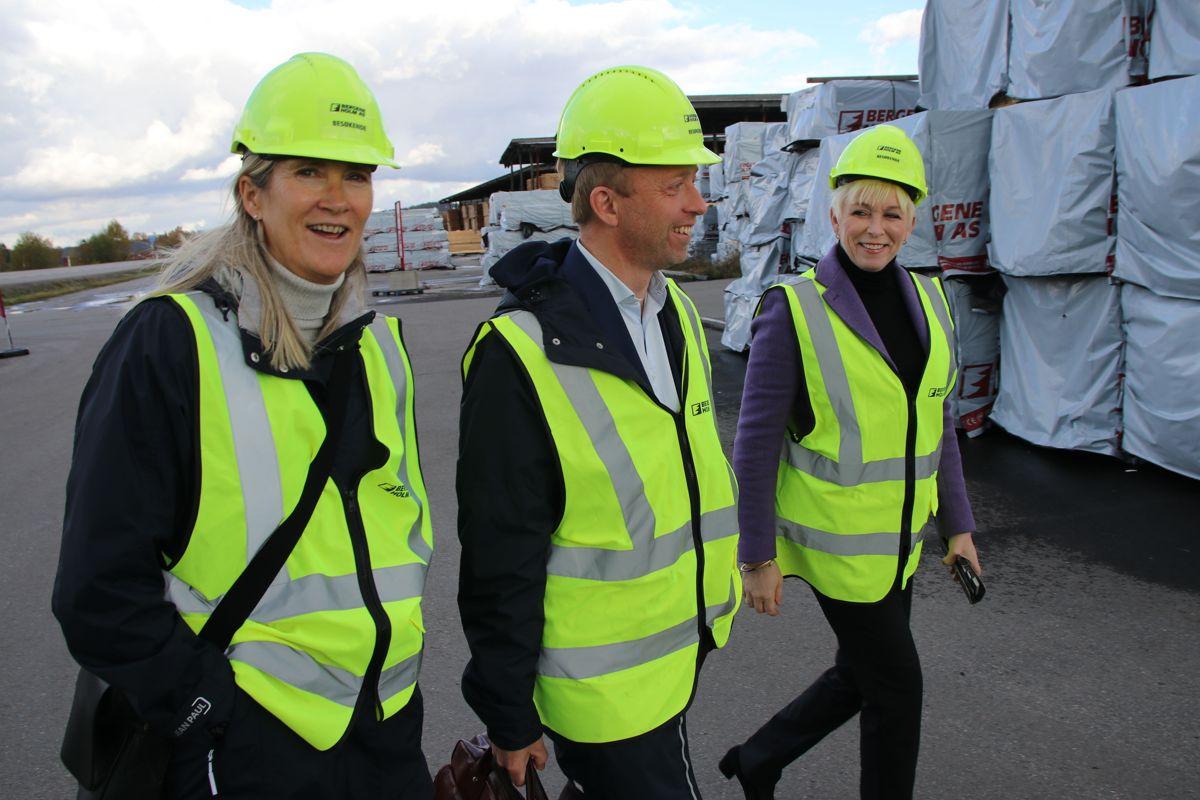 Kari Sandberg, John-Ragnar Aarset og Heidi Finstad.