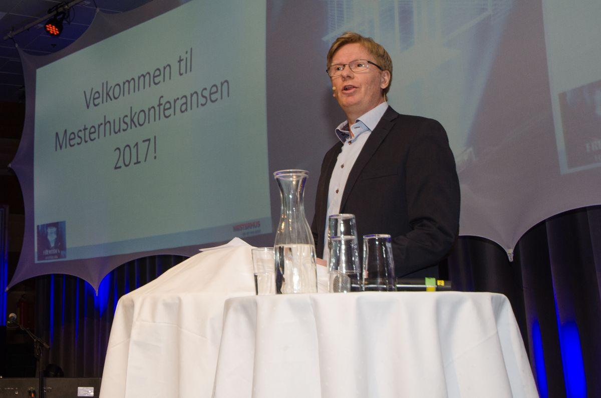 Kjededirektør Tore Mjaavatn i Mesterhus.