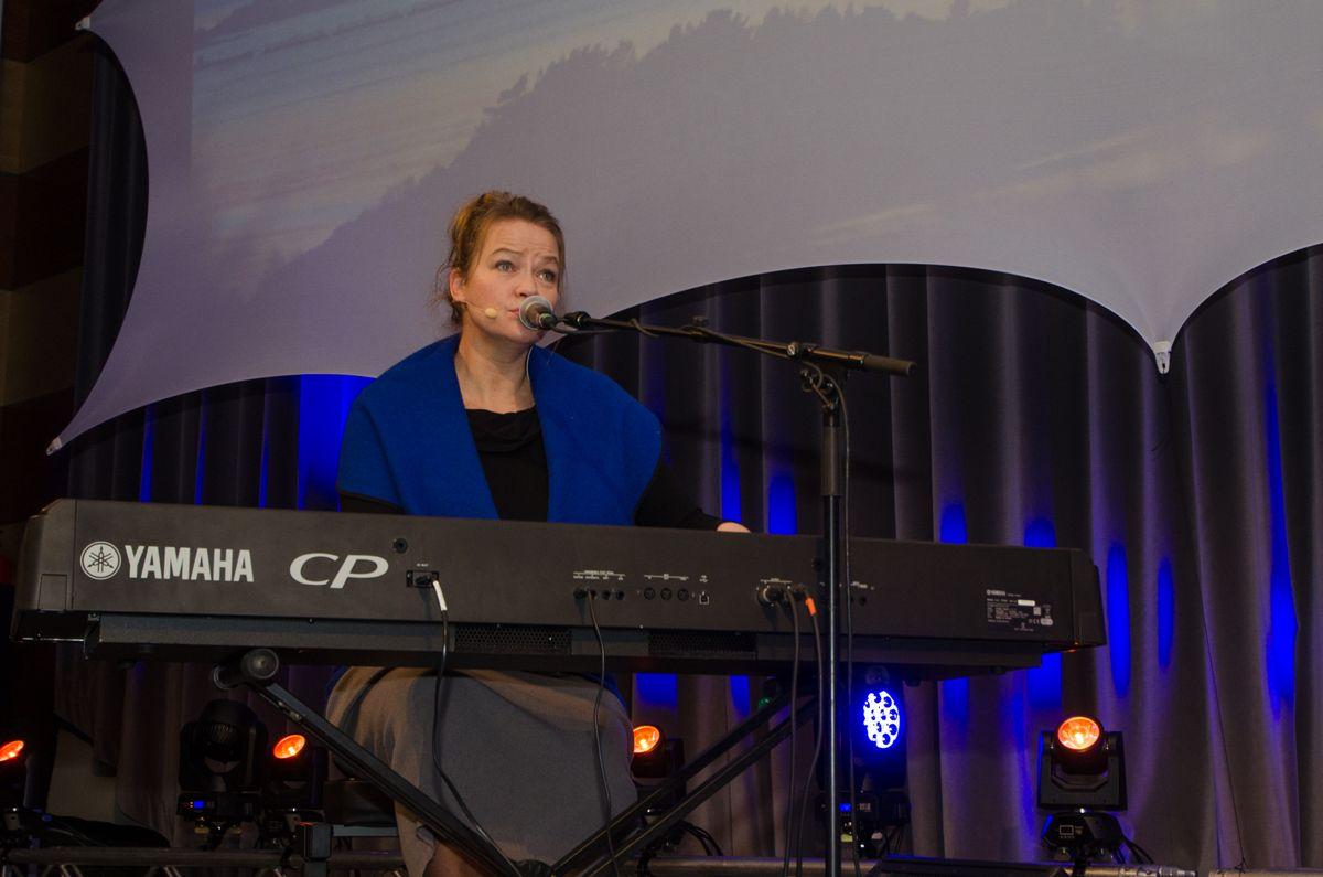 Forfatter Kathrine Aspaas.