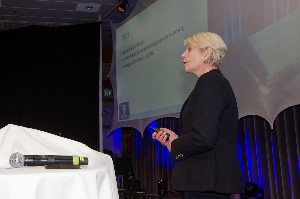 Teknisk sjef Elisabeth Bjaanes i Mesterhus.