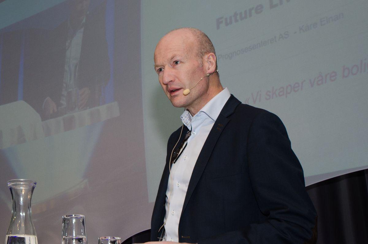 Kåre Elnan, leder for Prognosesenterets konsulentavdeling.