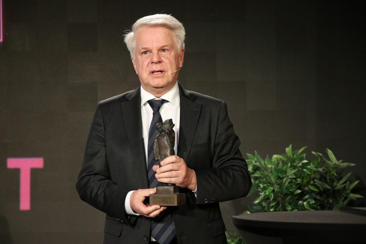 Tore Thorstensen kunne motta Bygenæringens Ærespris i regi av Bygg Reis Deg.