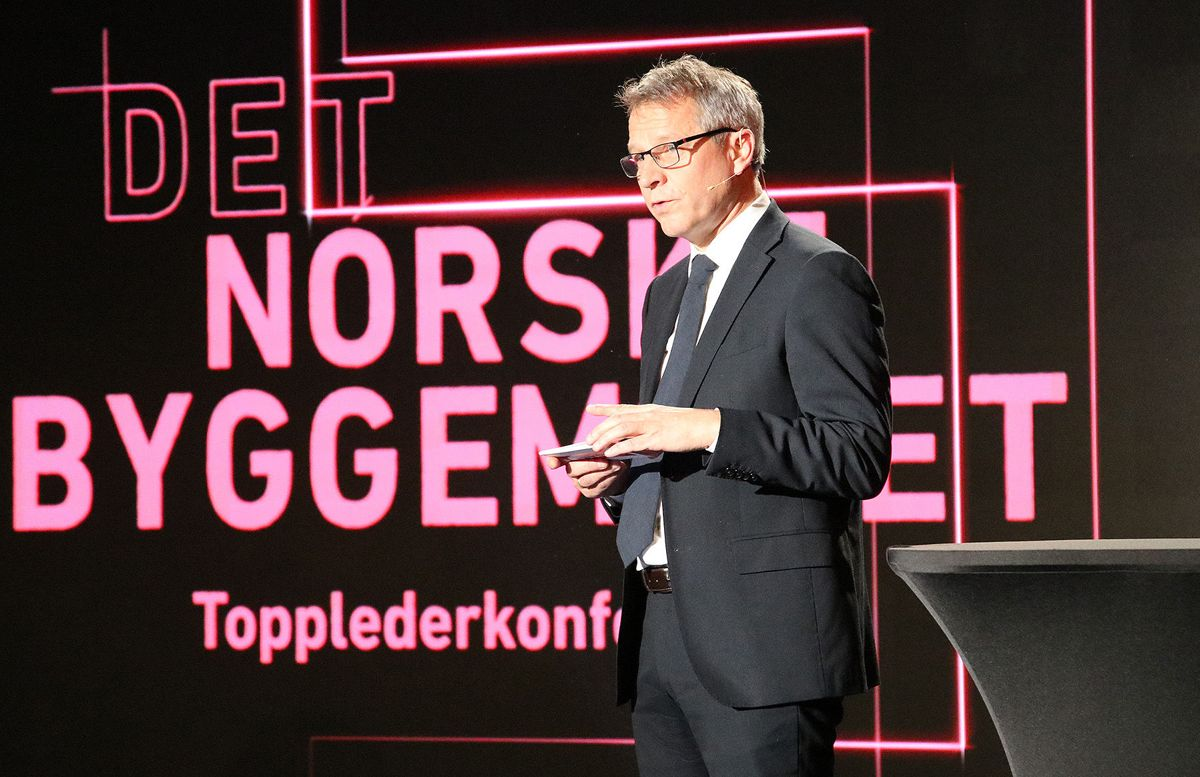 Trond Hagerud, styreleder i Bygg Reis Deg og administrerende direktør i Mapei.