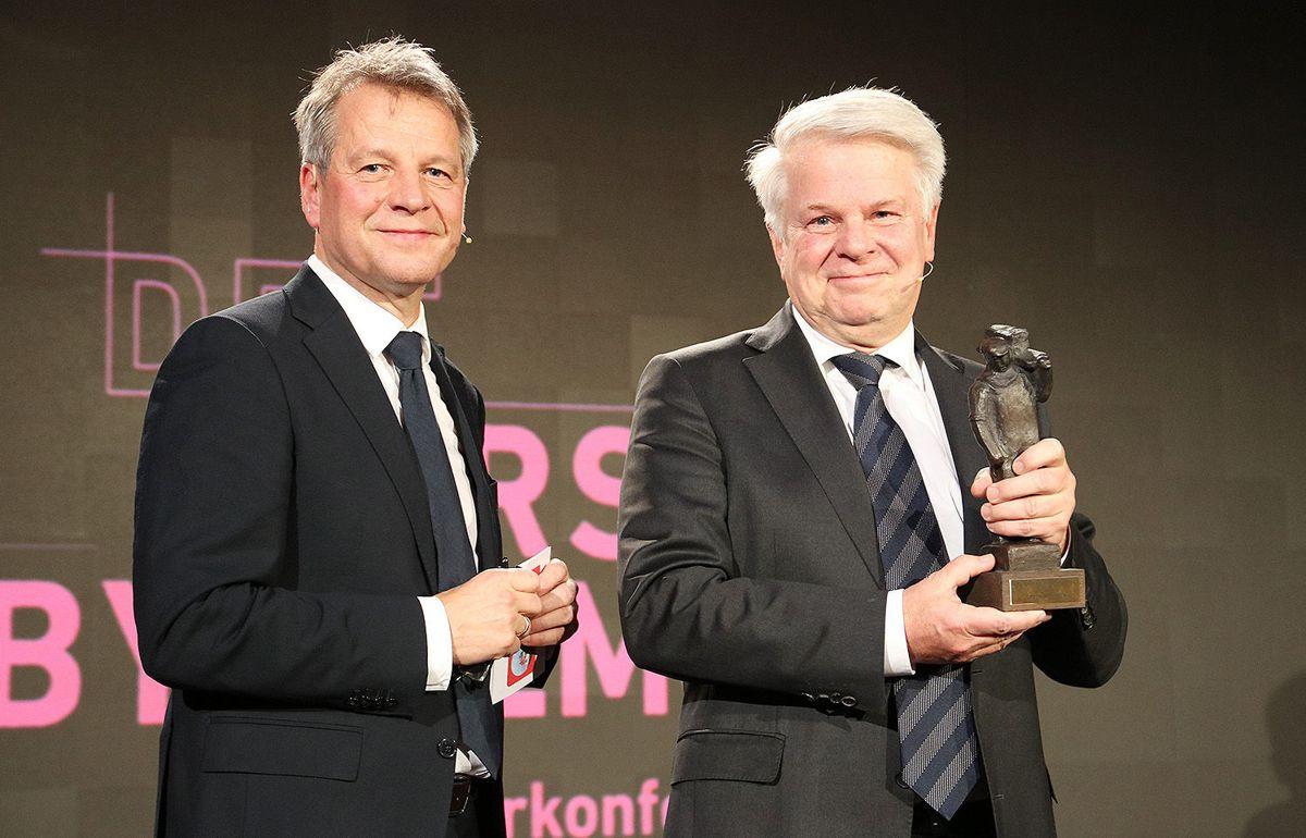 Trond Hagerud (t.v.) og Tore Thorstensen.