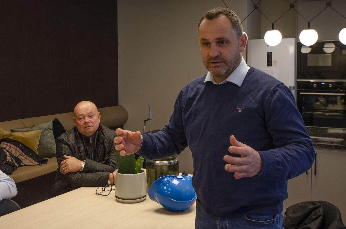 Daglig leder i Opplæringskontoret for tømrerfaget, Harald Hansen.