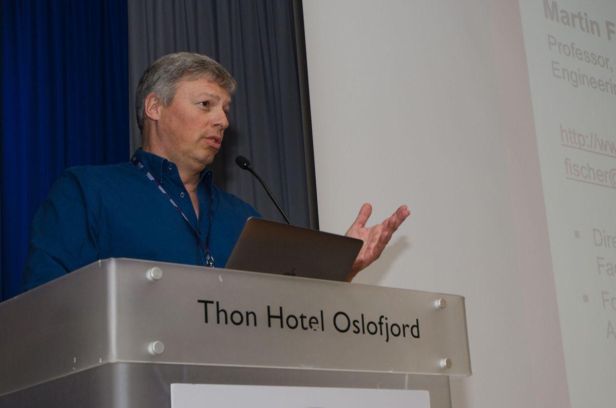 VDC-nestor Martin Fischer ved Stanford University.