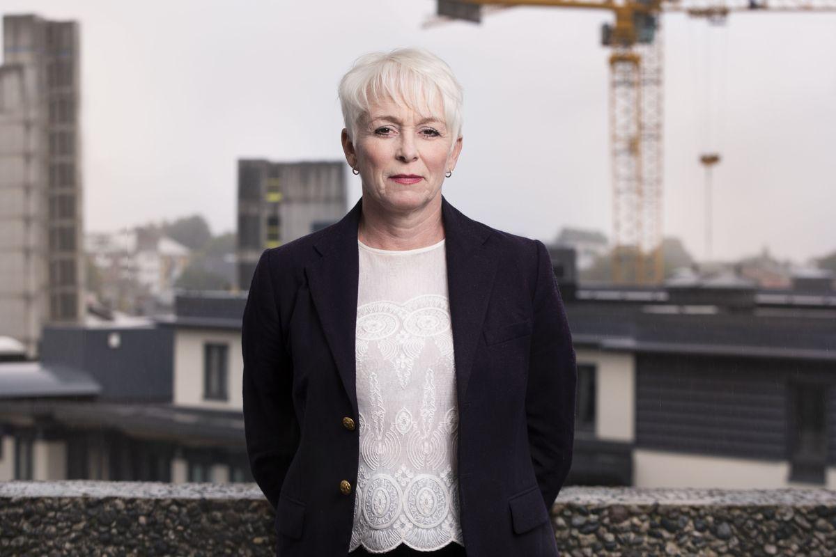 Heidi Finstad i Treindustrien. Foto :Ingar Sørensen