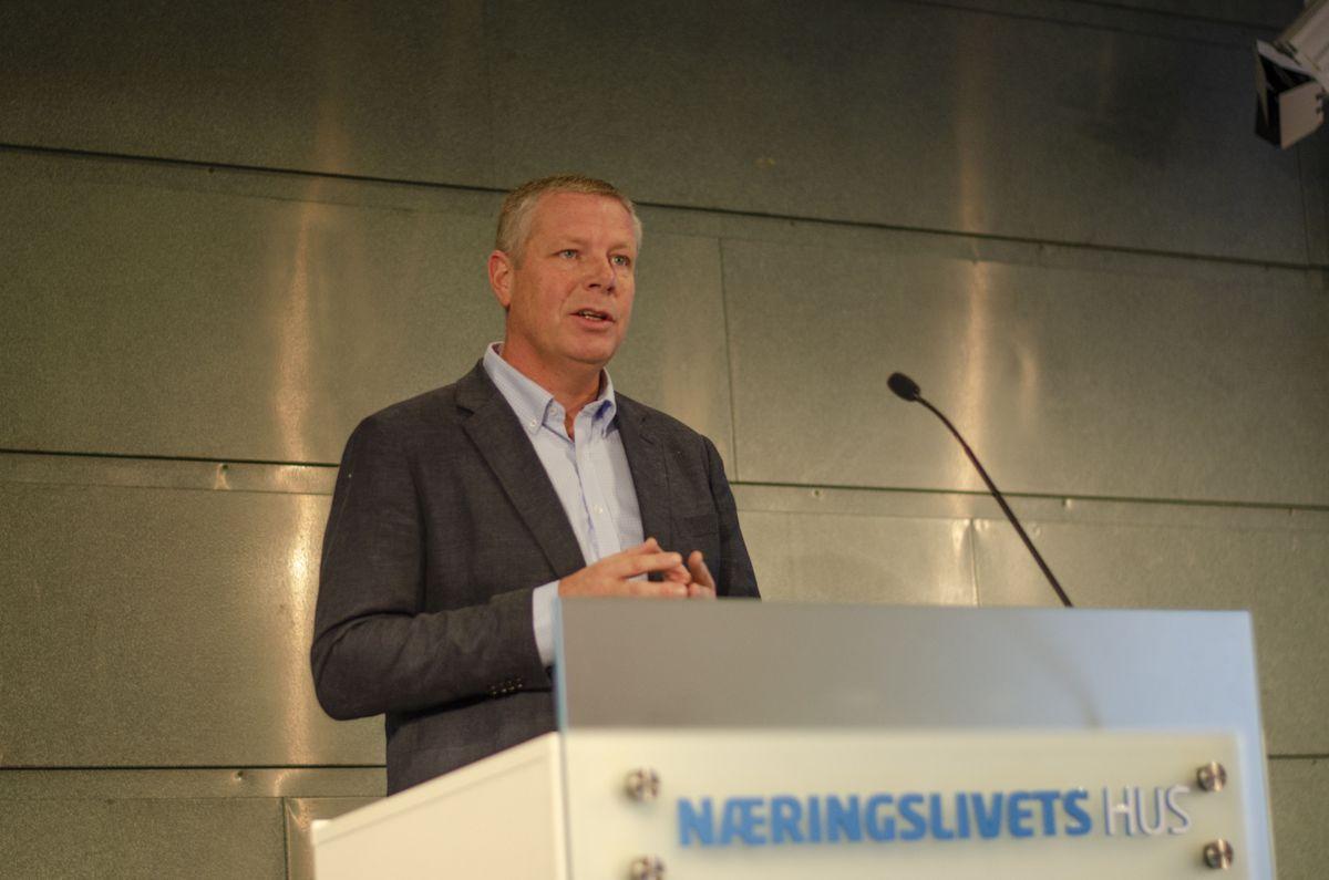Styreleder i EBA Oslo, Akershus og Østfold og administrerende direktør i Backe Entreprenør, Asle Randen.