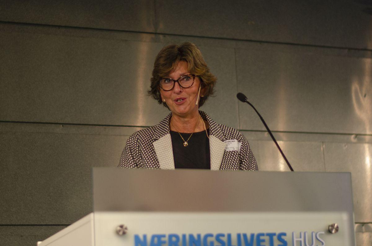 Ordfører i Bærum Lisbeth Hammer Krog.