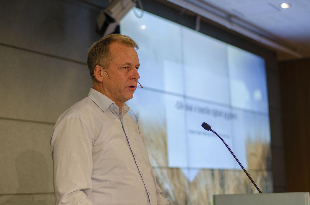 Ordfører Saxe Frøshaug i Indre Østfold kommune.