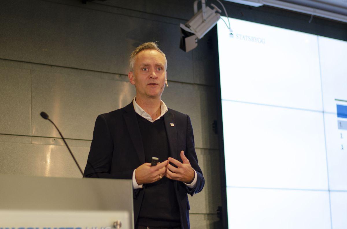 Byggherredirektør Marius Tunstad i Statsbygg.