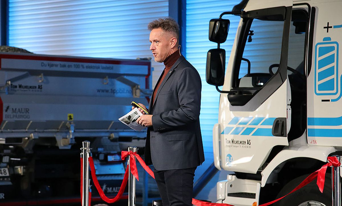 Bjørn-Inge Haugan, PR- og kommunikasjonsdirektør Volvo Norge.