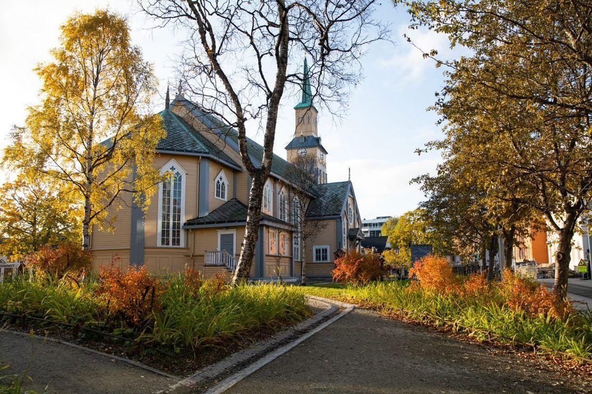 Hedrende omtale til Kirkeparken i Tromsø. Foto: Kristina Schröder