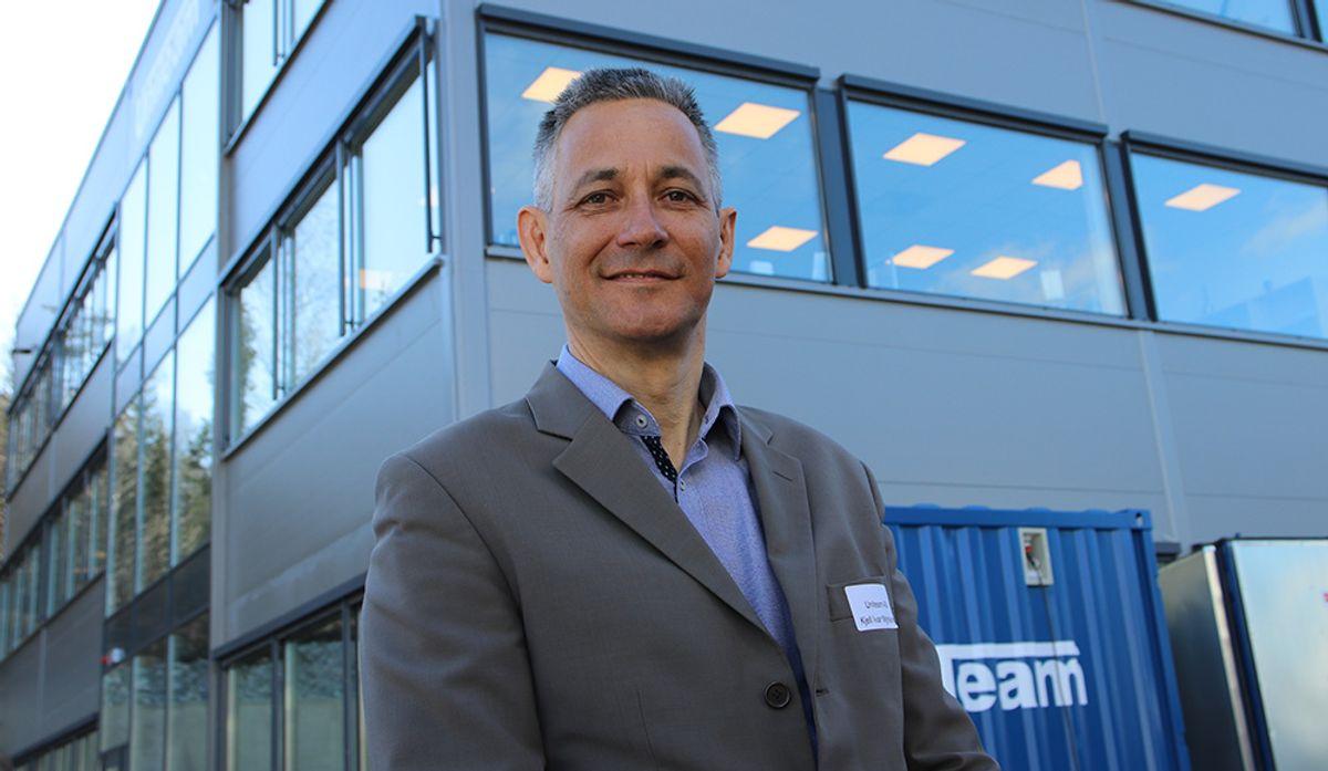 – Vi er godt fornøyd med de nye lokalene - som fullt ut er tilpasset vår virksomhet, sier konsernsjef Kjell Ivar Myrvang i Uniteam AS.