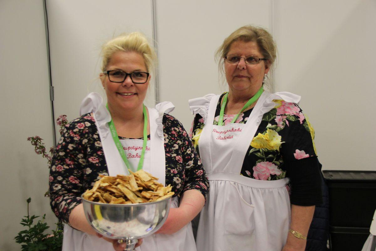 Sirupstynnkakebakeriet var en av mange ustillere på Mattorget på Hagemessen 2017. Foto: Svanhild Blakstad