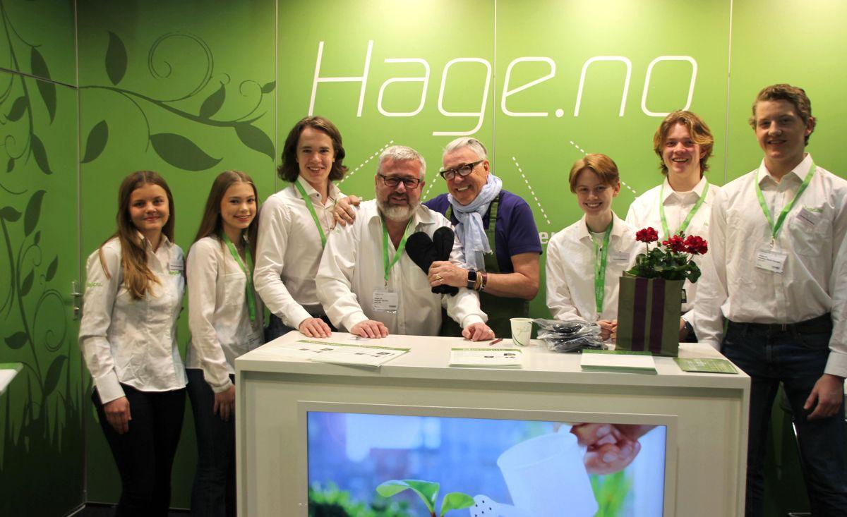 Hage.no's på Hagemessen 2017. Foto: Svanhild Blakstad