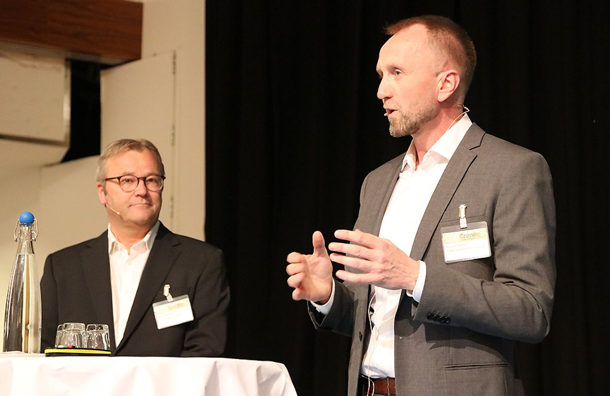 Bengt Herning (t.v.) og Øyvind Skarholt.