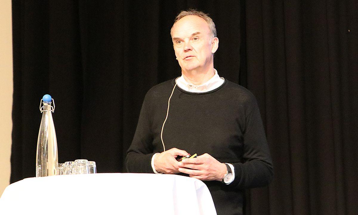 Sverre Kirkevold i Block Watne.