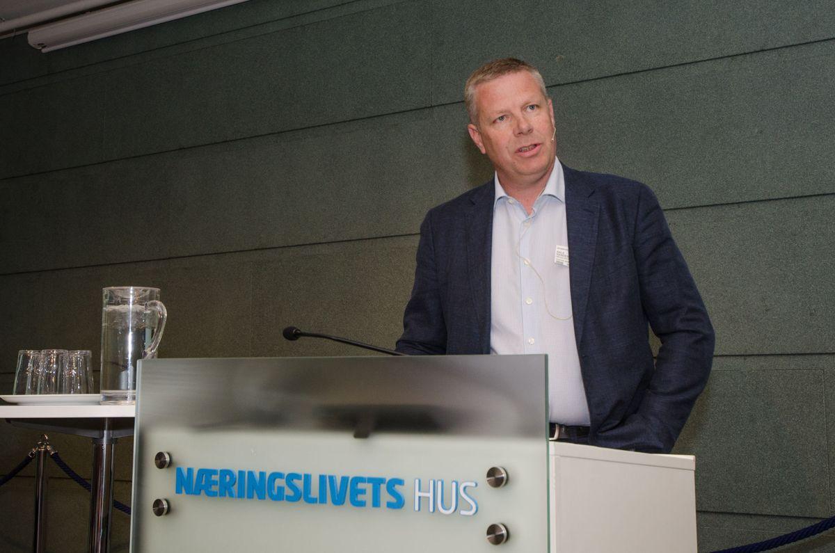 Nestleder i EBA Oslo avdeling, Asle Randen.