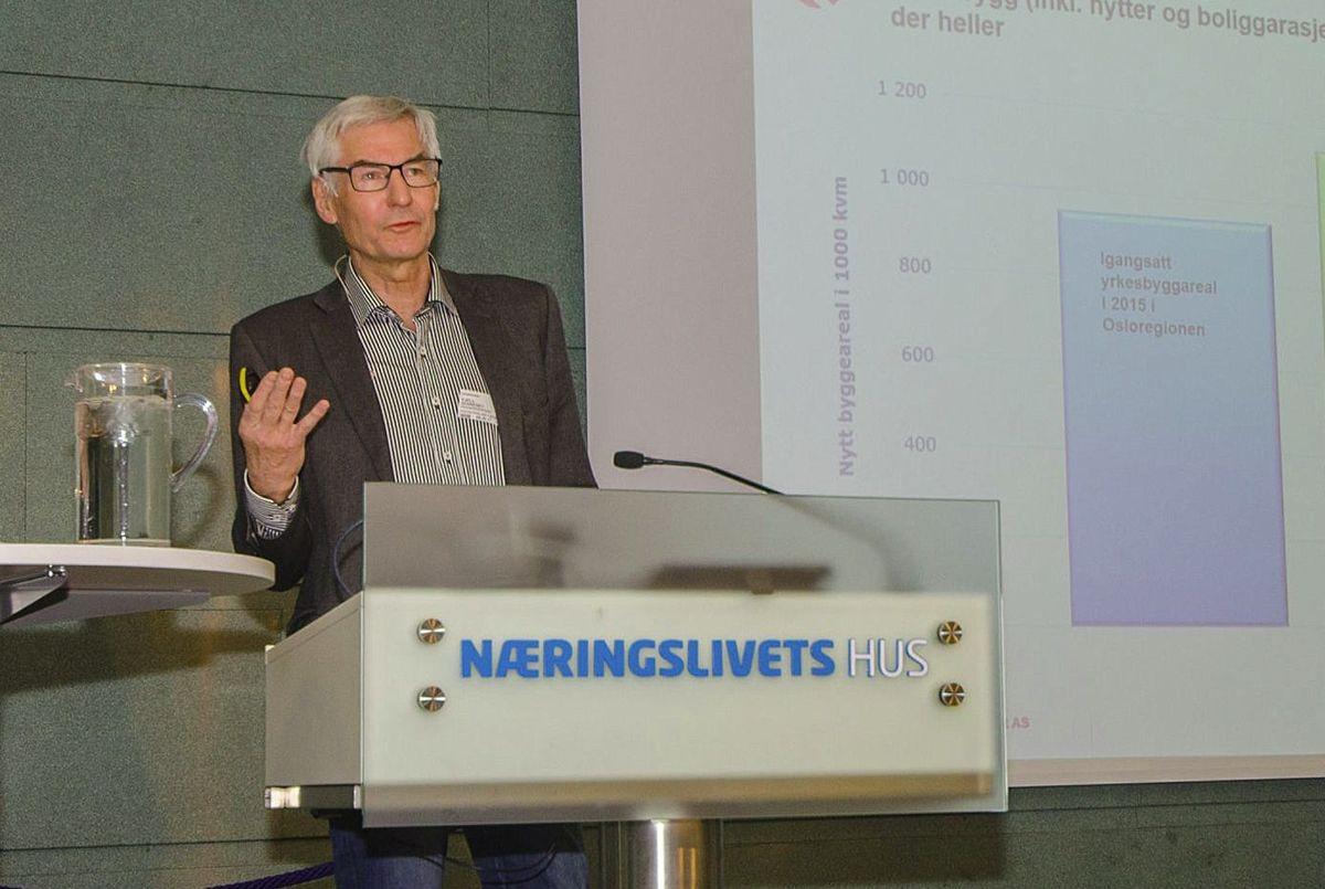 Kjell Senneset i Prognosesenteret.