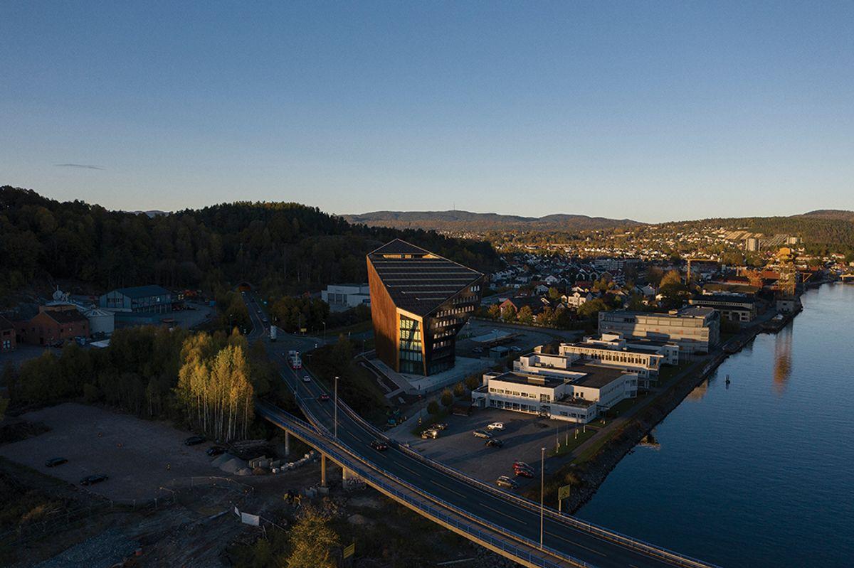 Powerhouse Telemark Snøhetta Photo: Ivar Kvaal